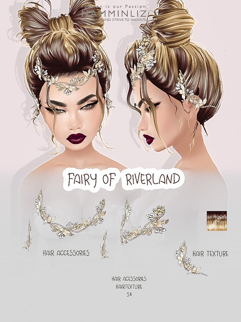 Fairy of Riverland imvu accessories & Hair texture JPG