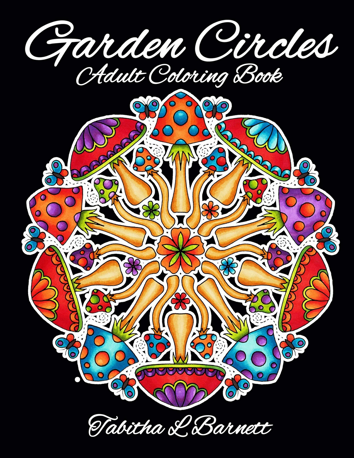 Garden Circles Adult Coloring Book PDF