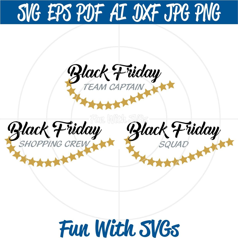 Black Friday Shopping Crew, T-shirt ideas,
