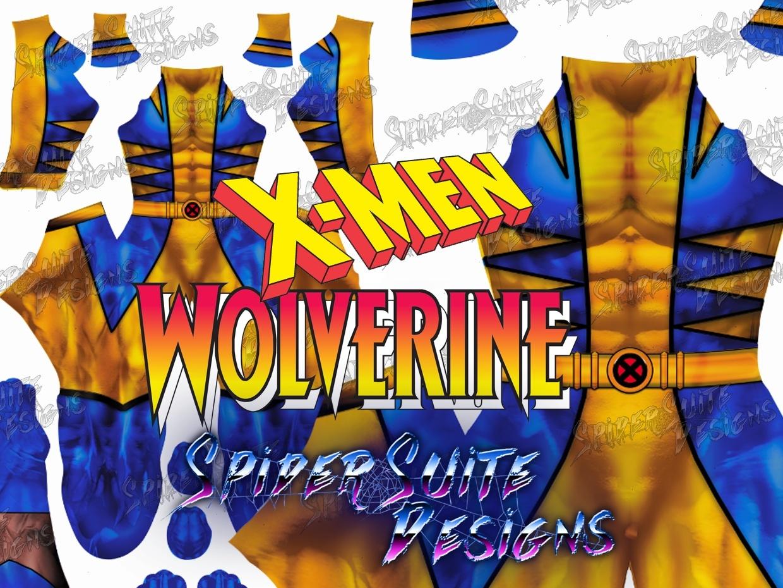 Classic Comic Wolverine 2017 Pattern