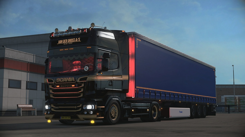 Scania RJL mirror position lights [READ README]