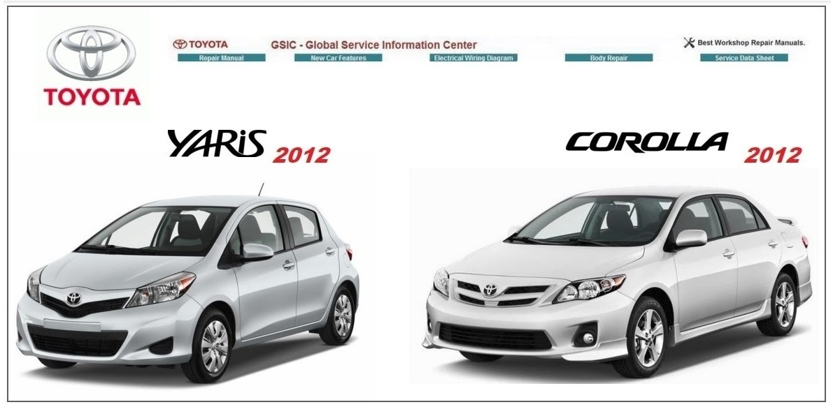TOYOTA YARIS & COROLLA GSIC WORKSHOP MANUAL
