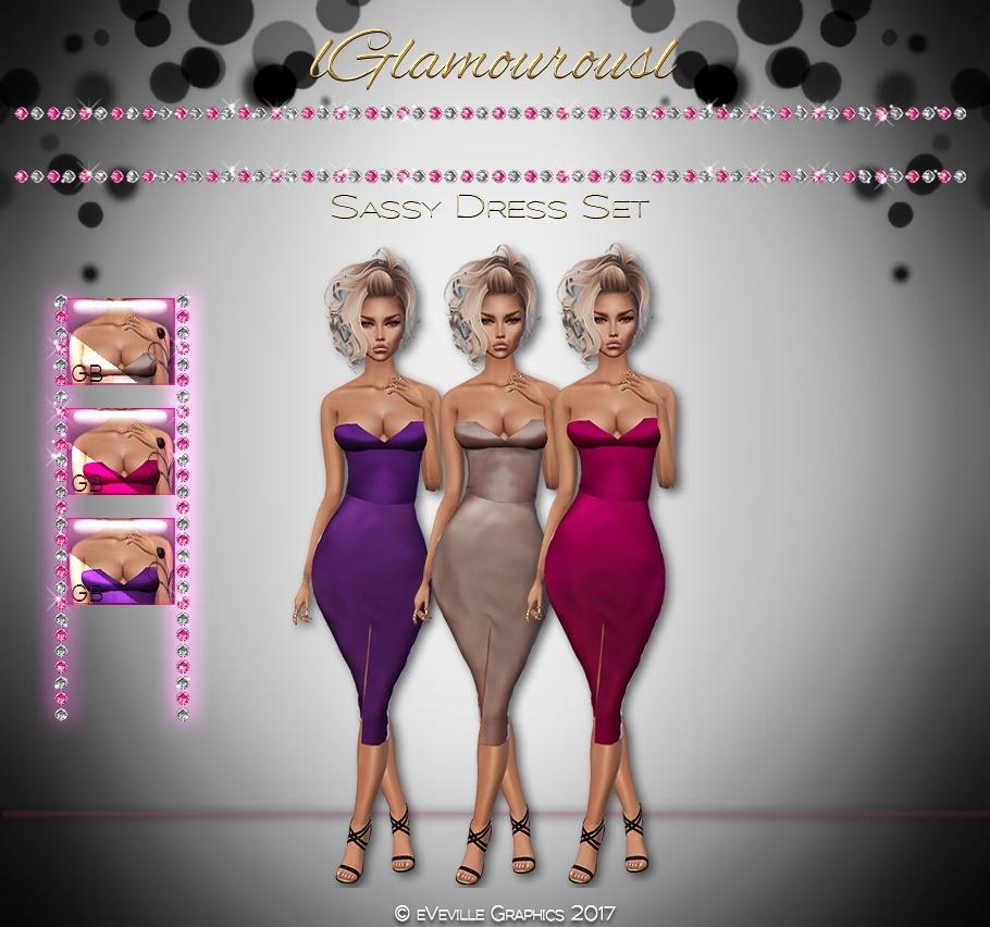 Sassy Dress Set ~RESELL RIGHTS~