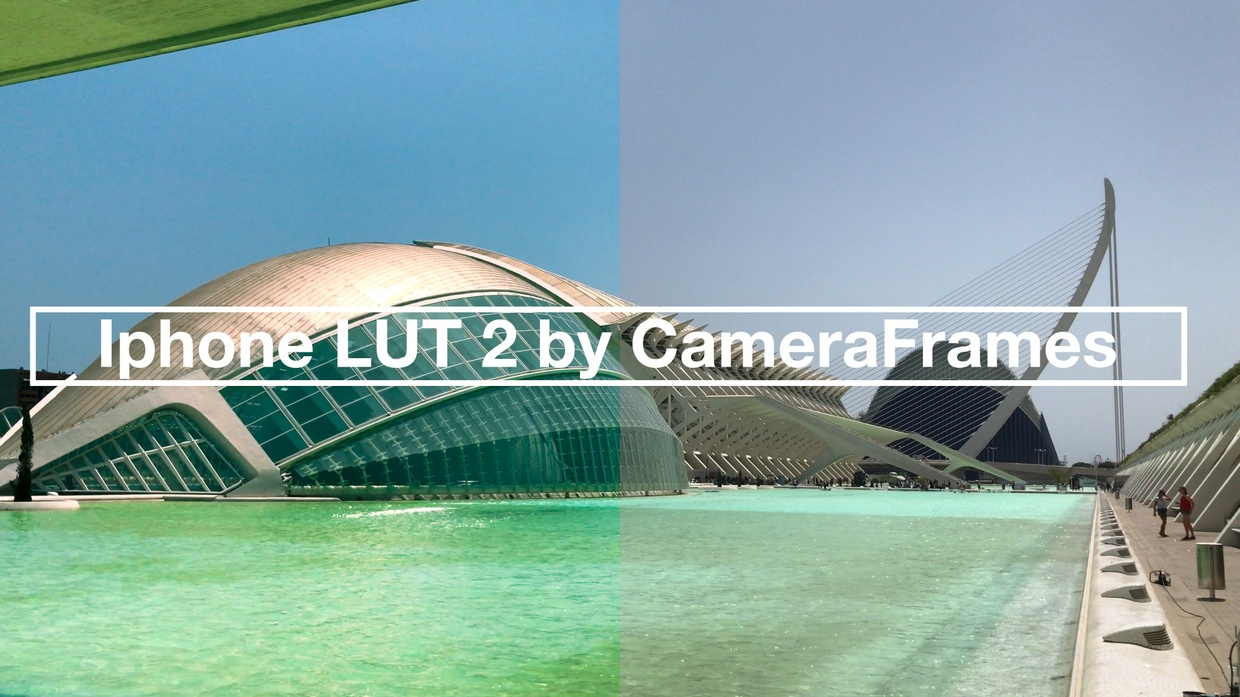 iPhone LUT 2 by CameraFrames