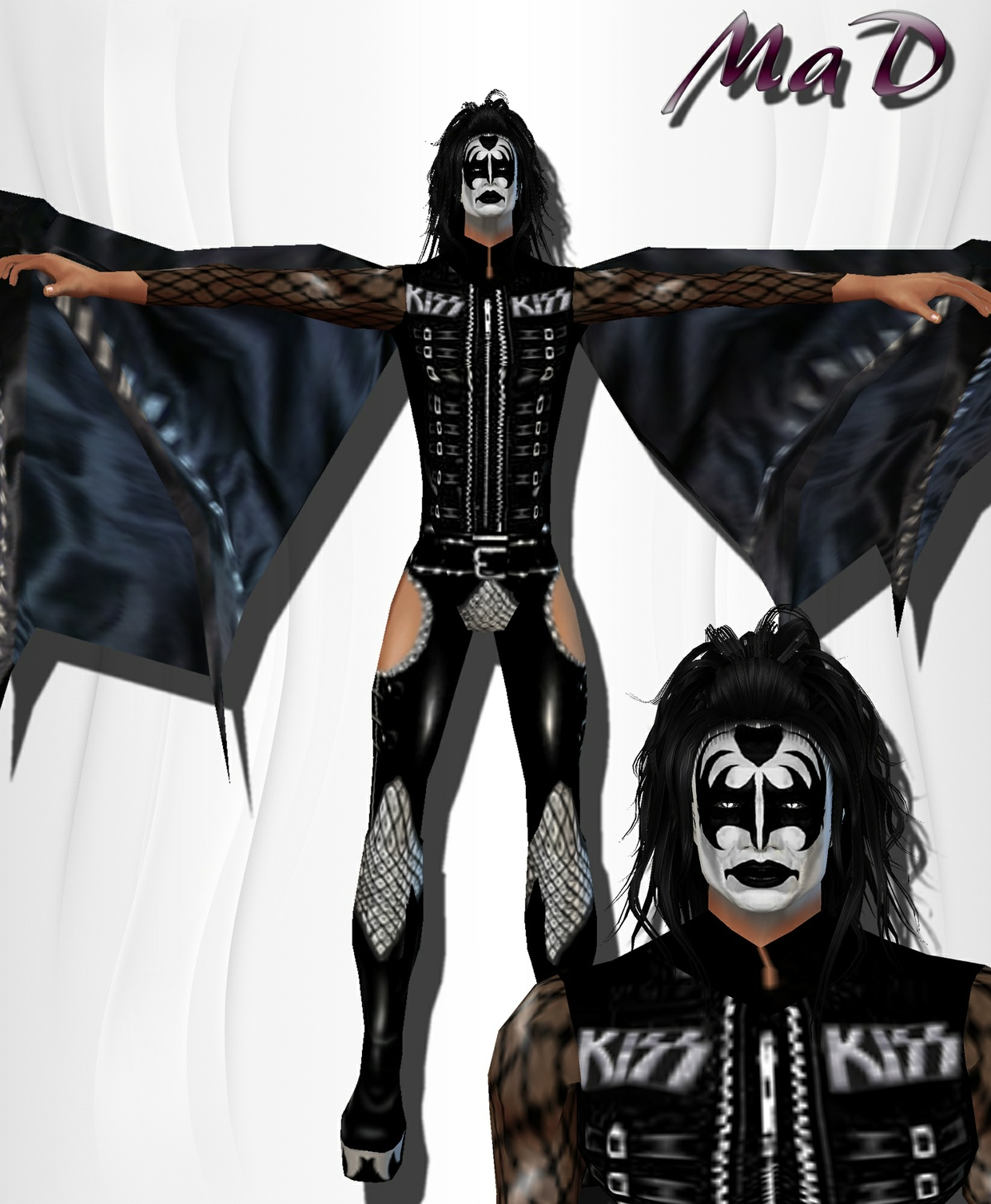 MaD Gene Simmons Bundle ONLY CATTY