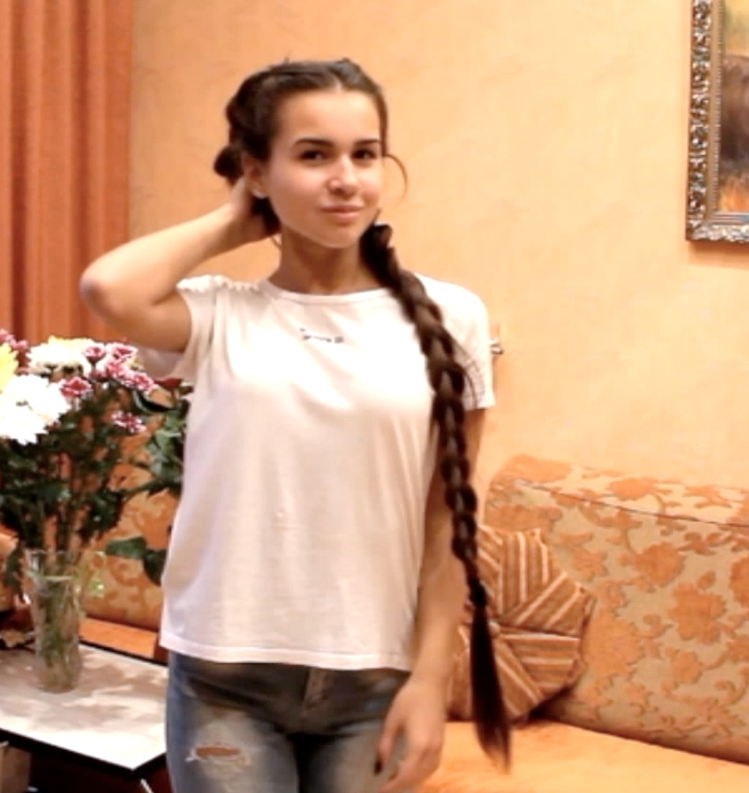 VIDEO - Diana´s braided pigtails