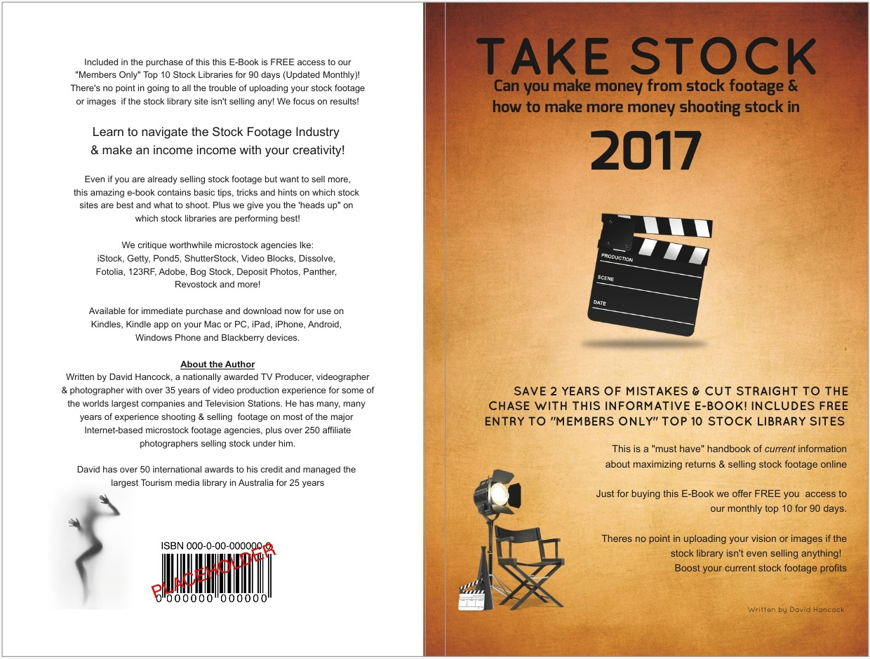 Take Stock - Vers 1 (Making money from stock footage in 2017)