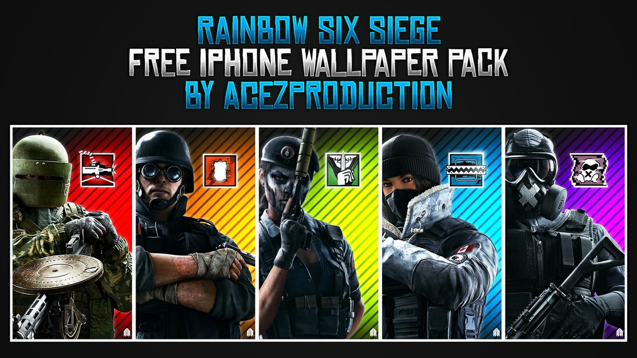 Rainbow Six Siege Wallpaper Download Free Beautiful: IPhone Wallpaper Pack