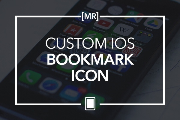 Custom iOS Bookmark Icon