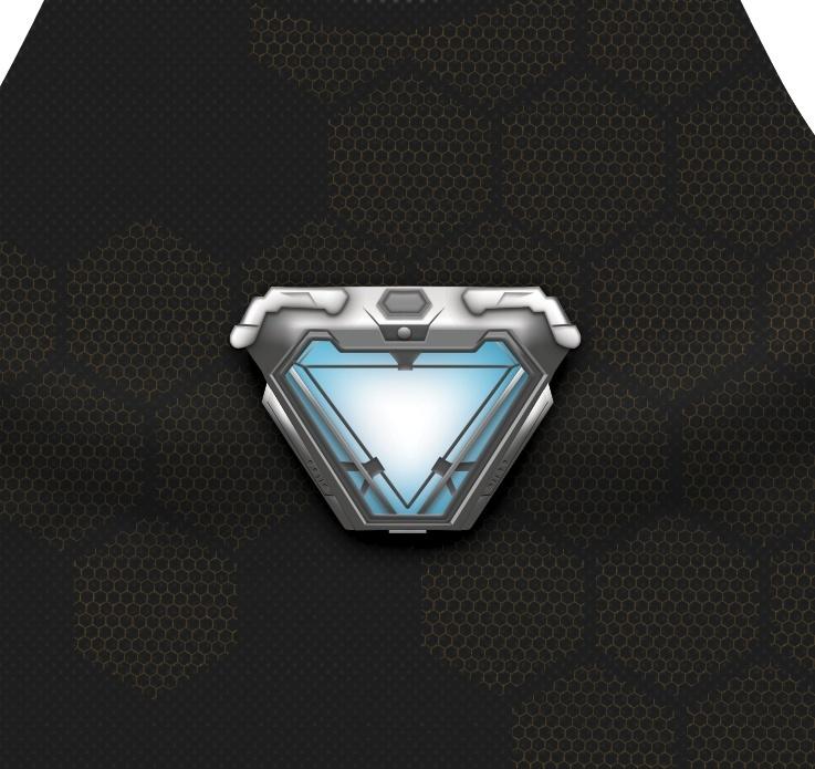 Tony Stark Infinity War (Arc reactor)