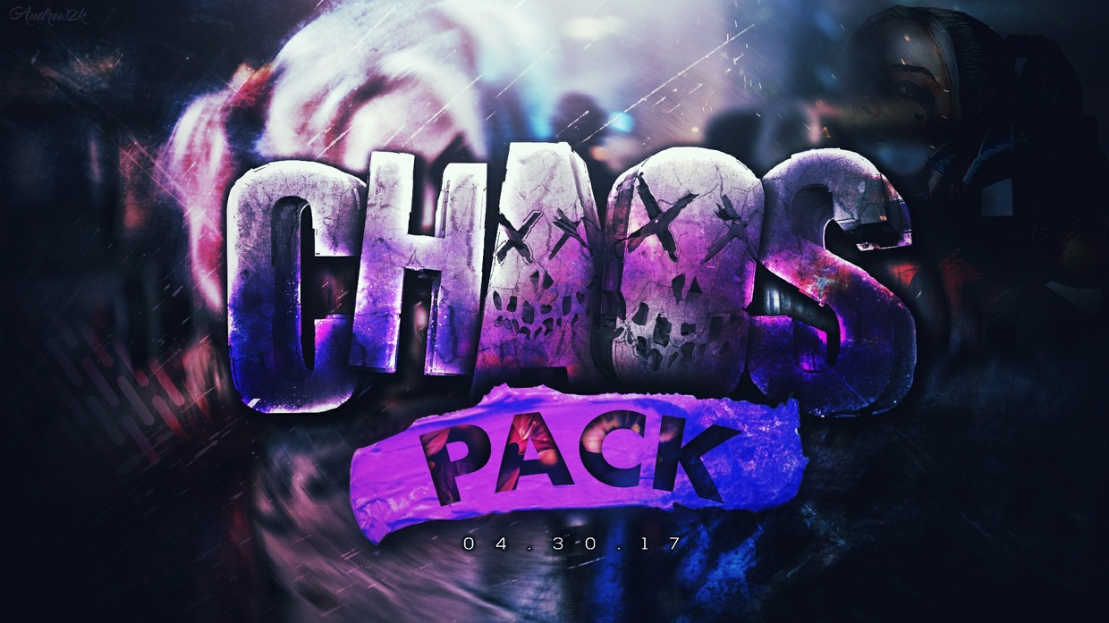 """Andrew2k's """"CHAOS"""" Graphics Pack!"""