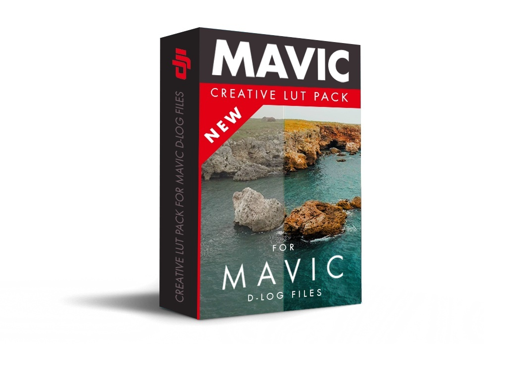 Mavic Pro - Creative LUT Pack for D-Log Files.