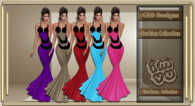 Una Gown Collection RESELL RIGHTS