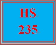 HS 235 Week 4 Social Insurance and the Landscape of Needs in America