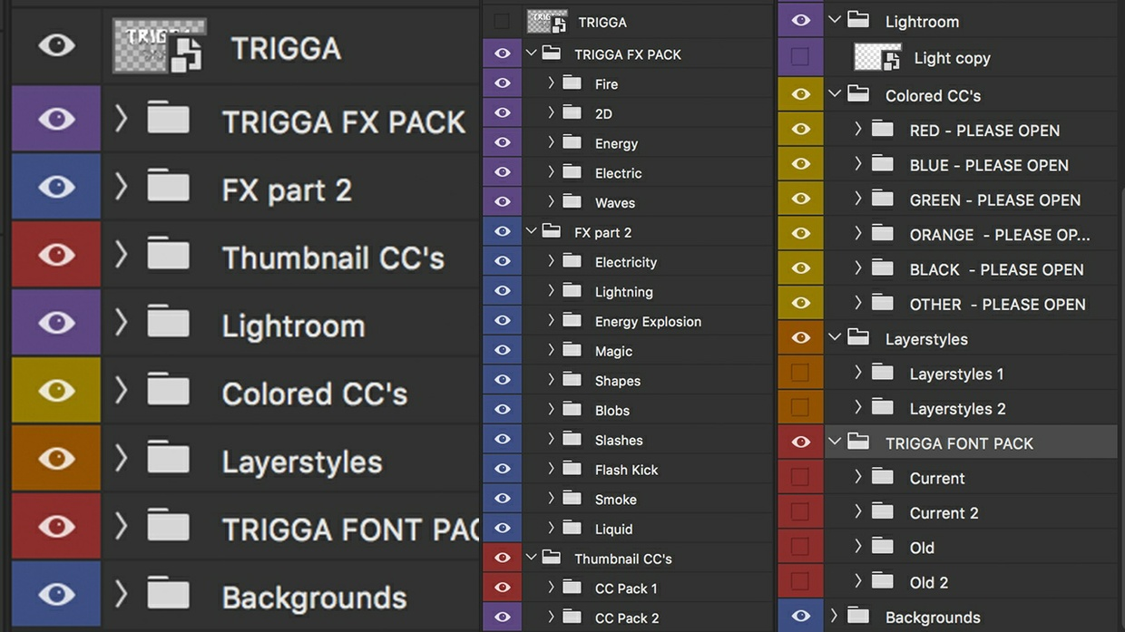 OFFICIAL TRIGGA GRAPHICS PACK