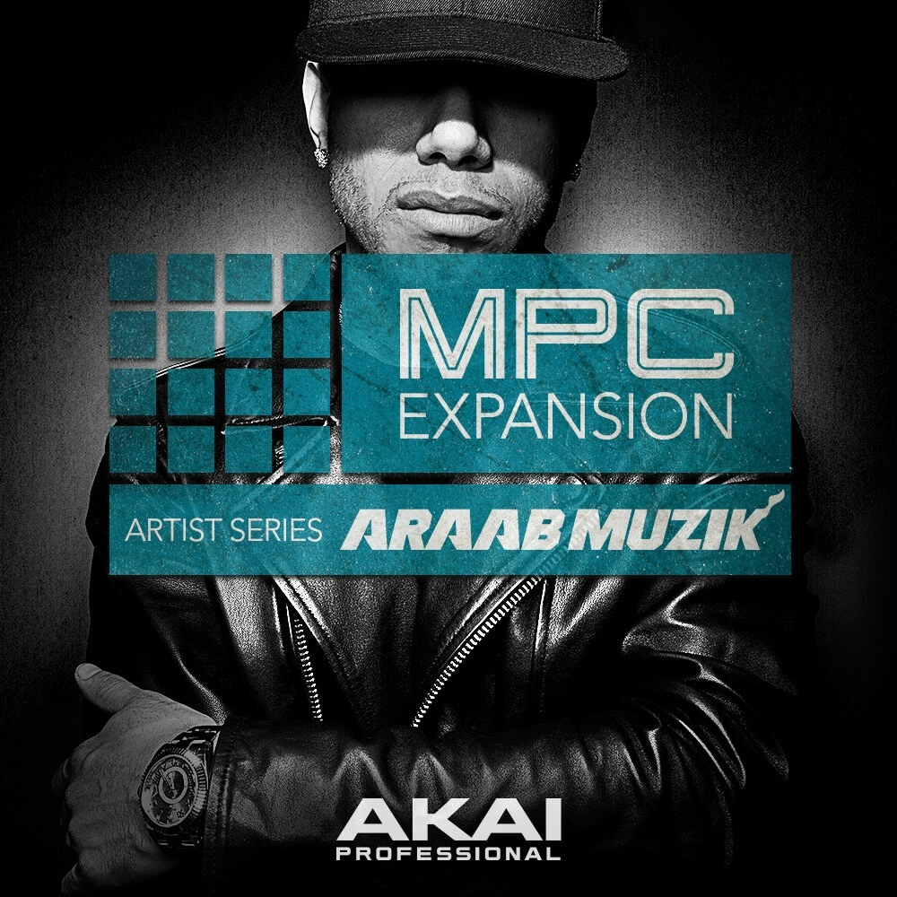 Official araabMUZIK MPC Expansion 2017 Drumkit!