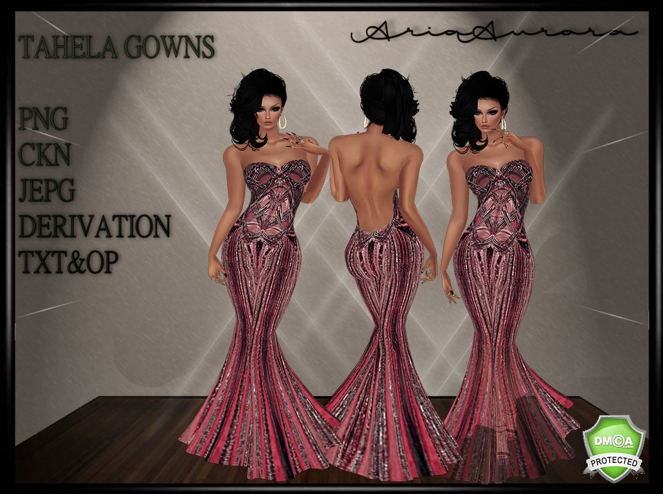 TAHELA GOWN NO RESELL