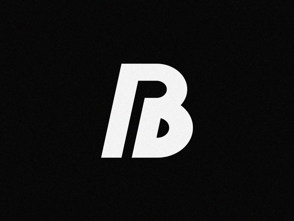 'B' : Logo Design