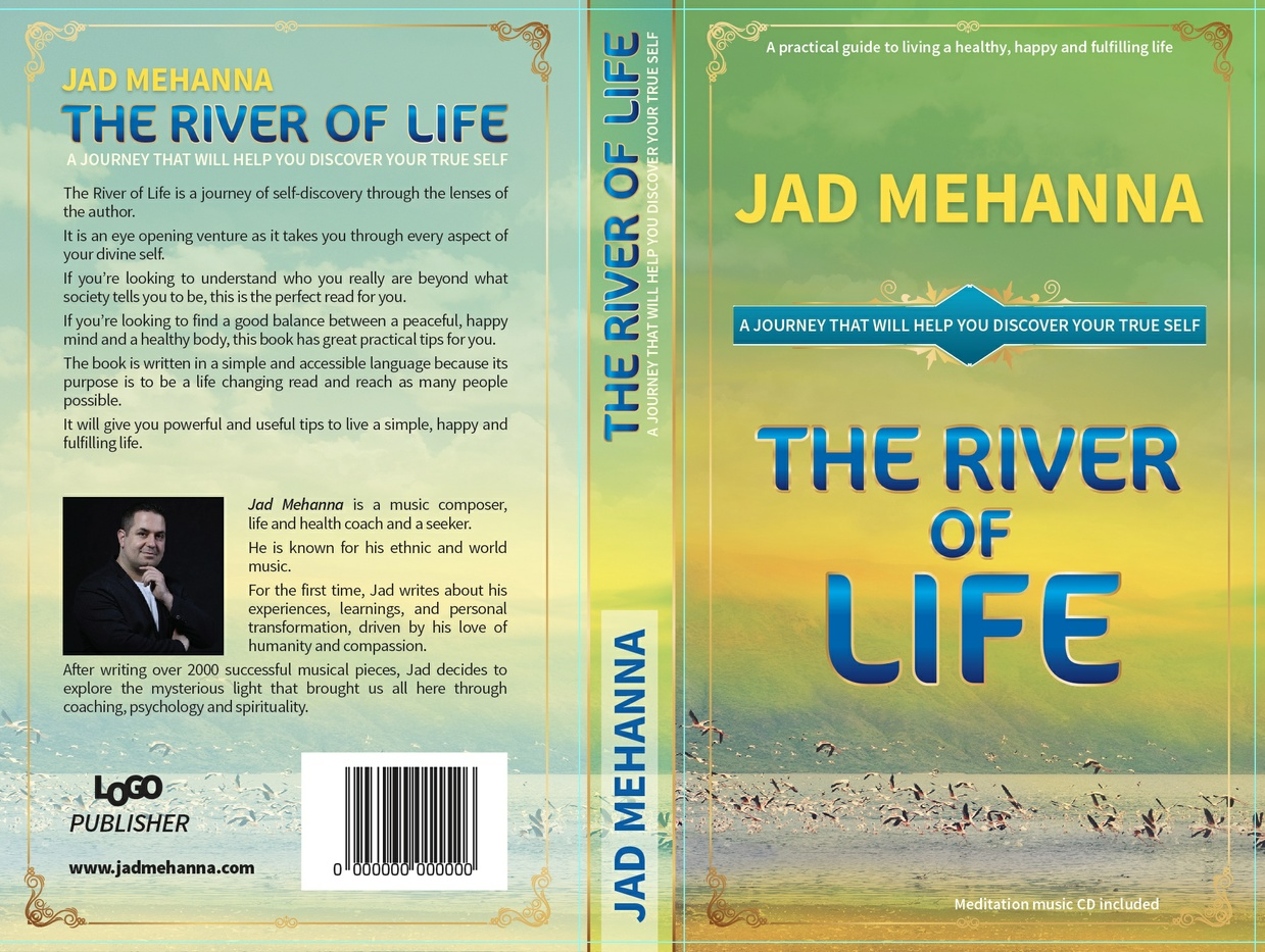The River Of Life -Ebook -By Jad Mehanna + 8 tracks Music Album -Relaxation Music