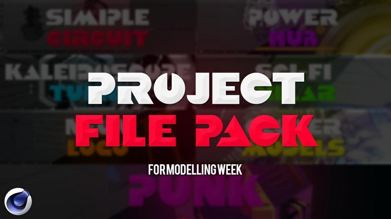 Modelling Week Project Files
