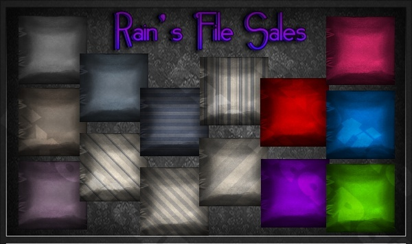 Random Satin Pillows -IMVU ROOM TEXTURES