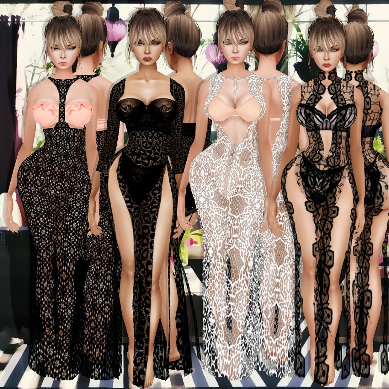 Lady Full Combo  Outfits + Bikinis