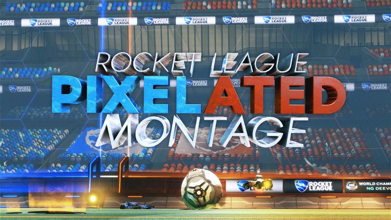 """Rocket League Pixelated Montage"" - Project"