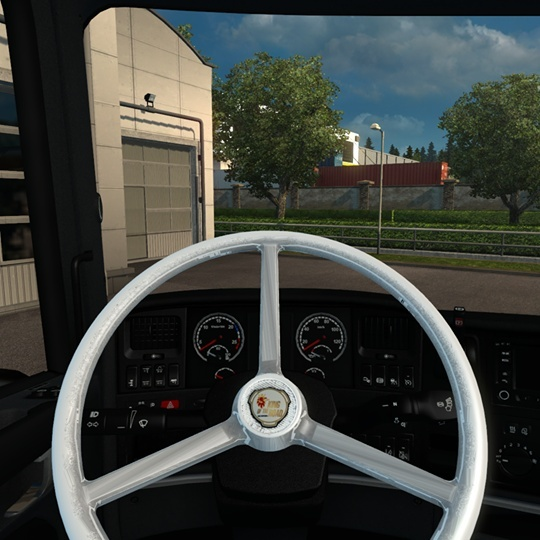 Vabis Steering Wheel for ALL Scania