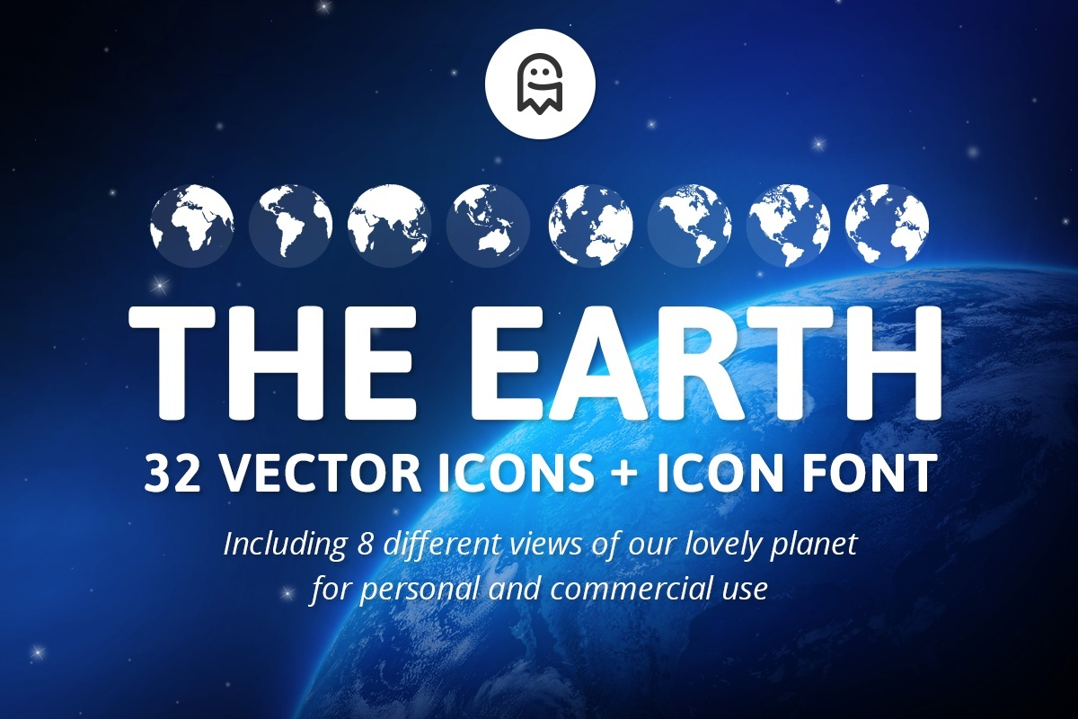 The Earth - 32 Vector Icons
