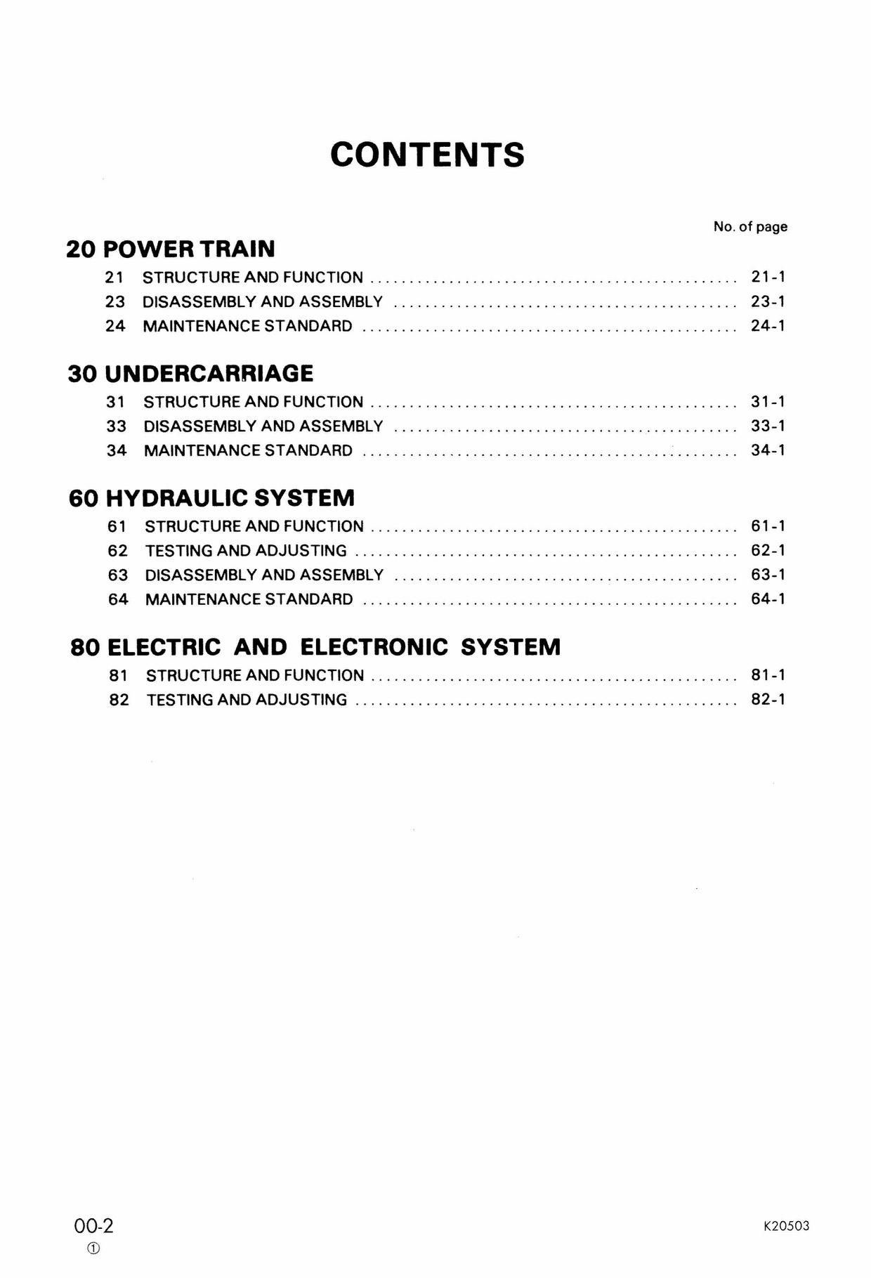 Komatsu PC210-3KP - PC240NLC-3KP Excavator Service Shop Manual Download (SN K15001 and up)