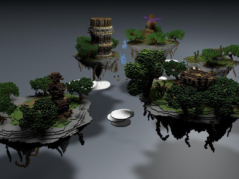 Large Fantasy Server Hub