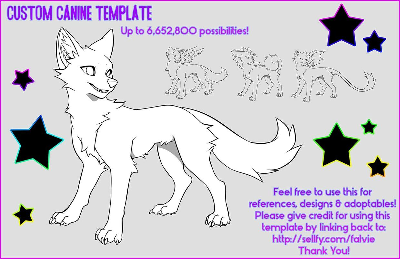 Custom Canine Template
