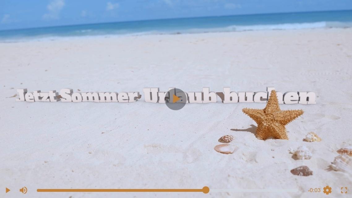 Video: Jetzt Sommer Urlaub buchen