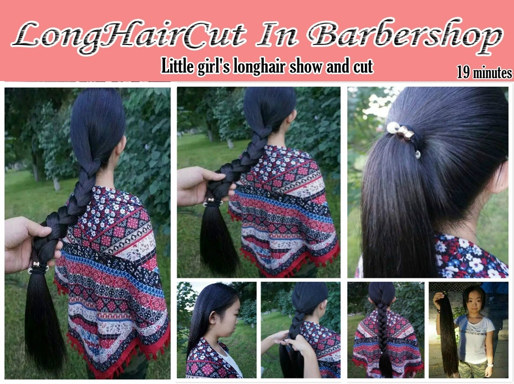 Little girl's longhair show and cut