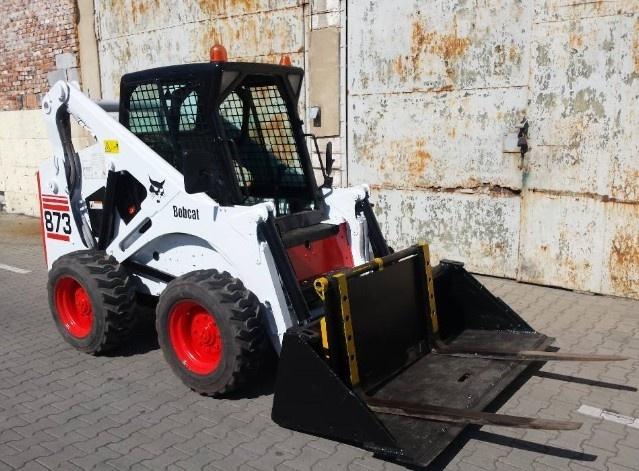 Bobcat 873 Skid Steer Loader Service Repair Manual (S/N 514115001, 514213001 & Above)