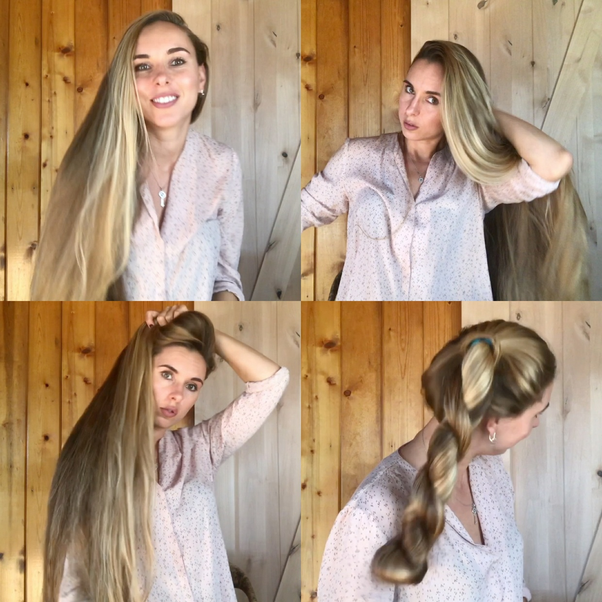 VIDEO - Kateryna´s perfect hair display