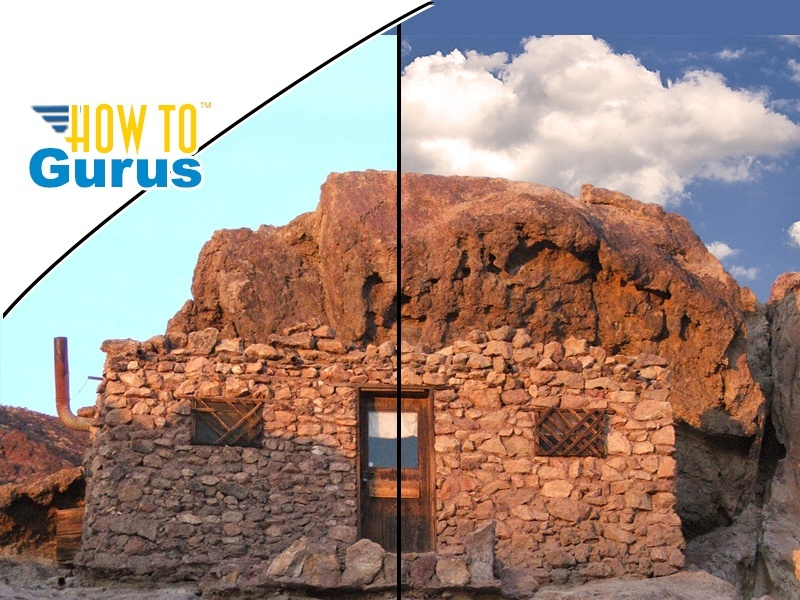Photoshop Elements Background Eraser Tool : Easily Replace a Sky 15 14 13 12 11 Tutorial