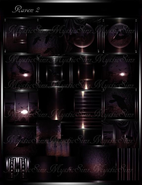 IMVU Textures Raven 2 Room Collection