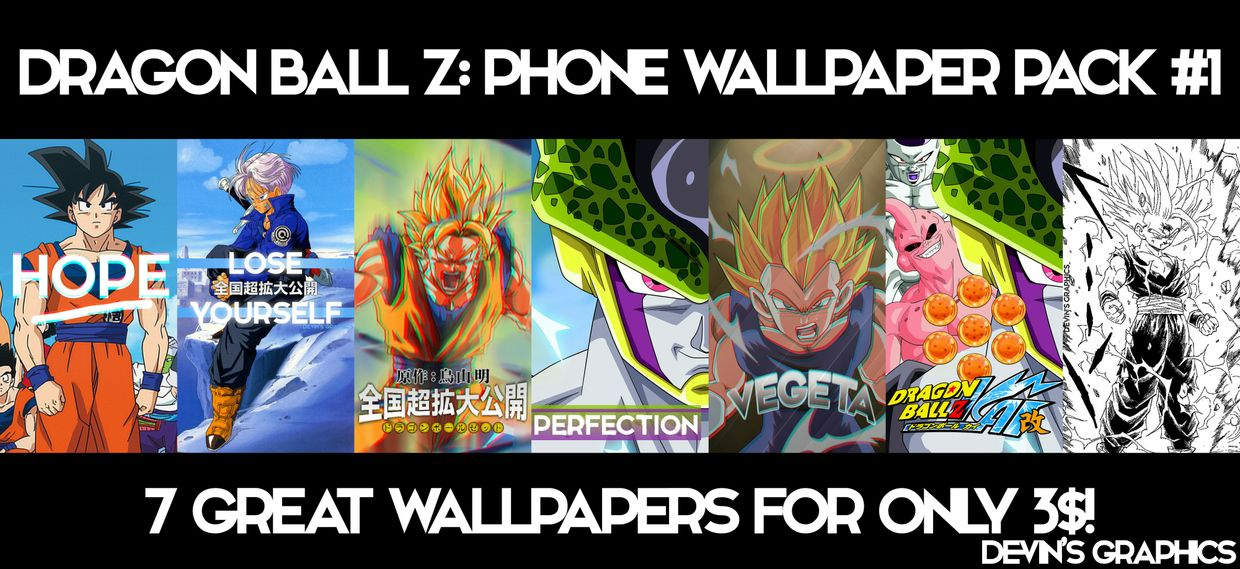 Dragon Ball Z Phone Wallpaper Pack!