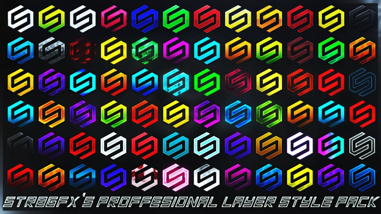STR8GFX'S Proffesional Layer Style Pack