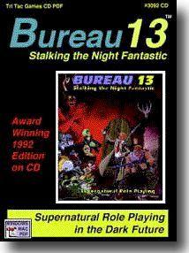 TTG#3092 Bureau 13 1992 Edition