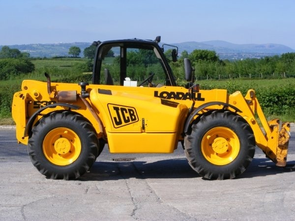 JCB Loadall 500 Series Telescopic Handler Service Repair Manual Download (Onwards No.561001)