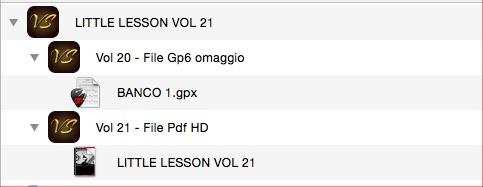 LITTLE LESSON VOL 21 - Format Pdf (in omaggio file Gp6)