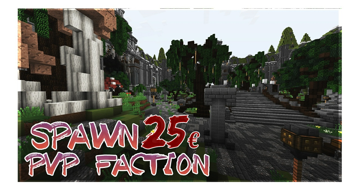 Minecraft Spawn | PvP-Faction [1.8-1.12]
