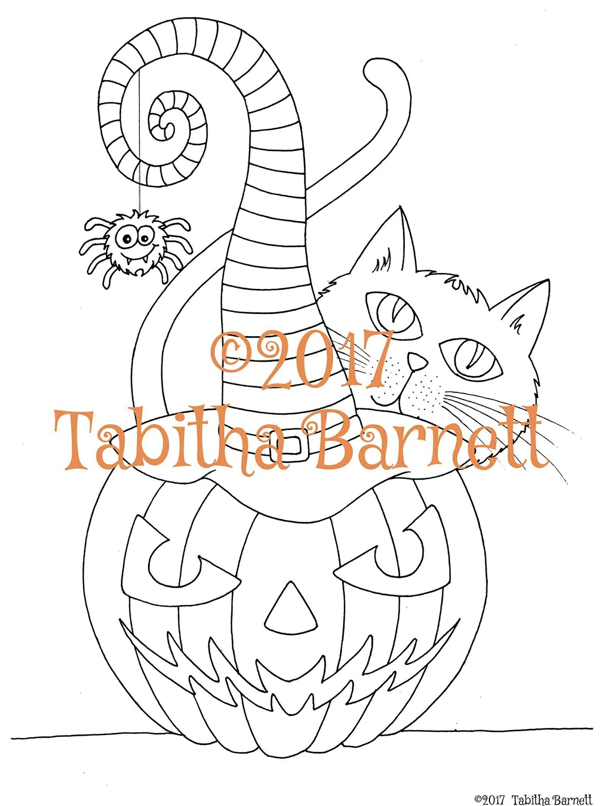 Witchy Coloring Pack (3 new pages for Halloween 2017)