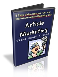 Article Marketing Crash Course