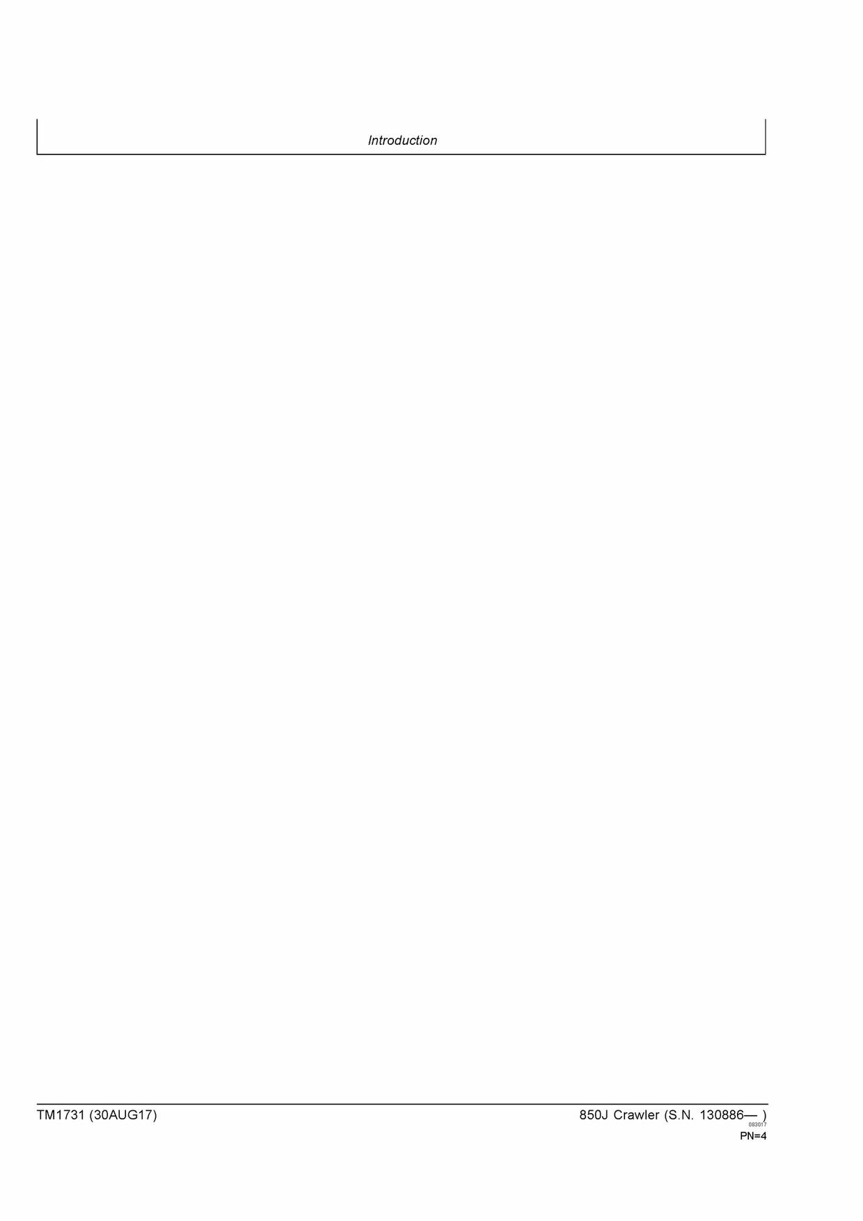 JOHN DEERE 850J CRAWLER DOZER REPAIR SERVICE TECHNICAL MANUAL TM1731