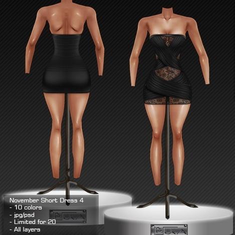 2013 Nov Short Dress # 4