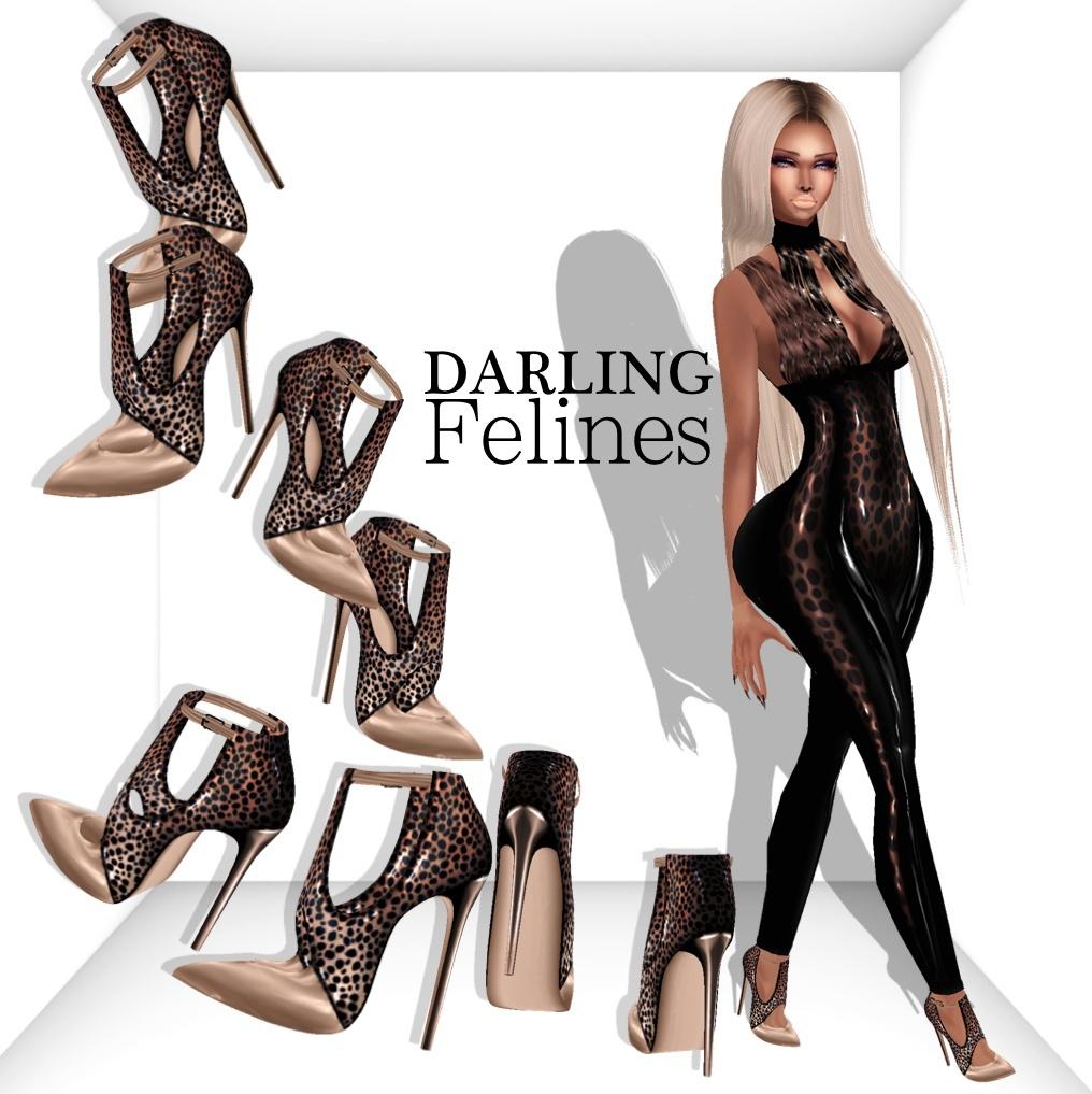 Darlings Felines Package Catty Only!!!