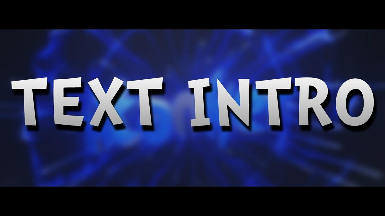 TEXT INTRO / 1080p60fps   -45%!